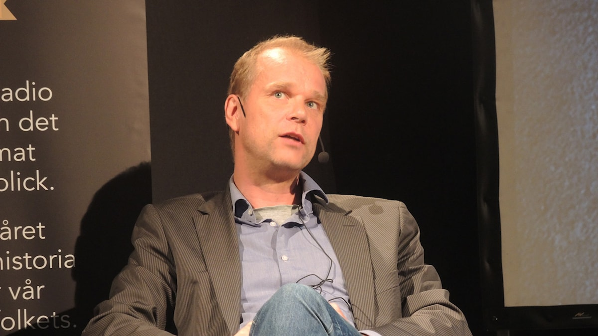 Sveriges radios korrespondent, Kristian Åström. Foto: Arna Sunje/Sveriges radio