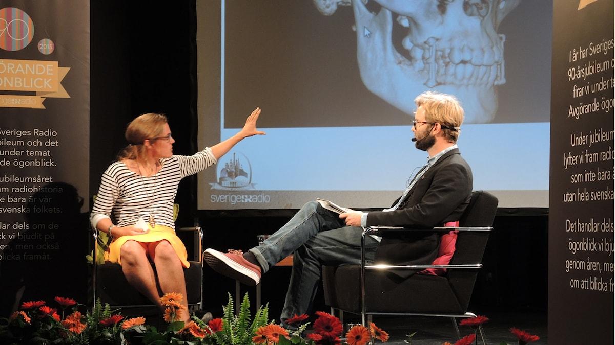 Sveriges radios utrikeskorrespondent, Lotten Collin. Foto: Arna Sunje/Sveriges radio