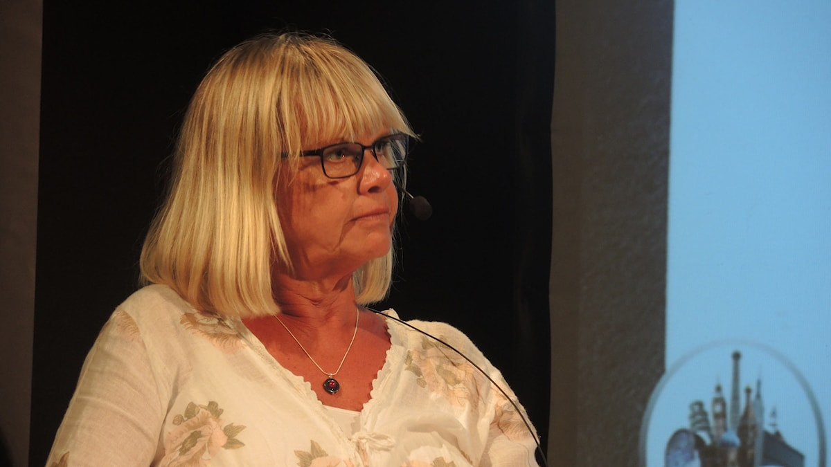 Sveriges radios utrikeskorrespondent, Margita Boström. Foto: Arna Sunje/Sveriges radio