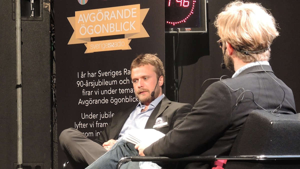 David Carlqvist, utrikeskorrespondent Sveriges radio. Foto: Nils Lindström/Sveriges radio