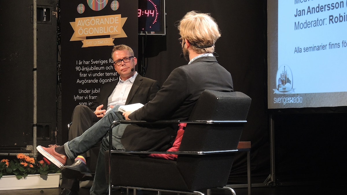 Jan Andersson, utrikeskorrespondent. Foto: Nils Lindström/Sveriges radio