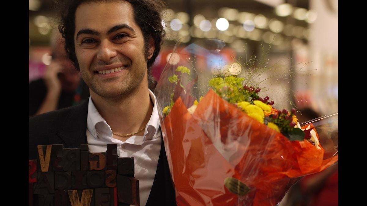 Khashayar Naderehvandi vinnare av Sveriges Radios Novellpris 2014
