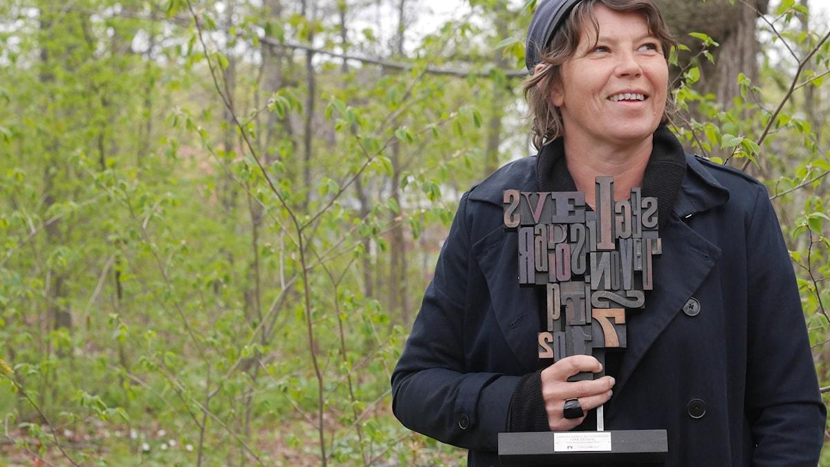 Lina Ekdahl vinner Sveriges Radios Novellpris 2017