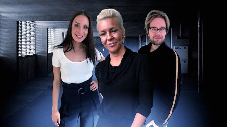 Jasmin, Nina och Erkki
