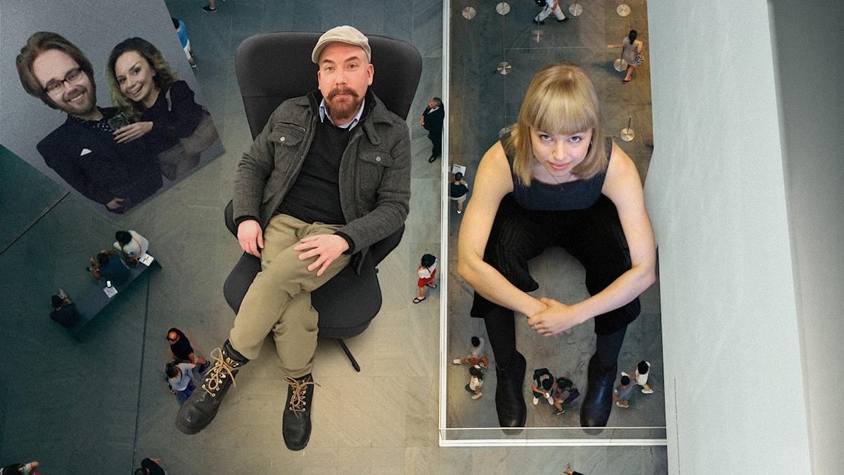 Anna Virkkunen upptäcker teaterscenen och Juha Patronen skapar konst i Biskopsgården