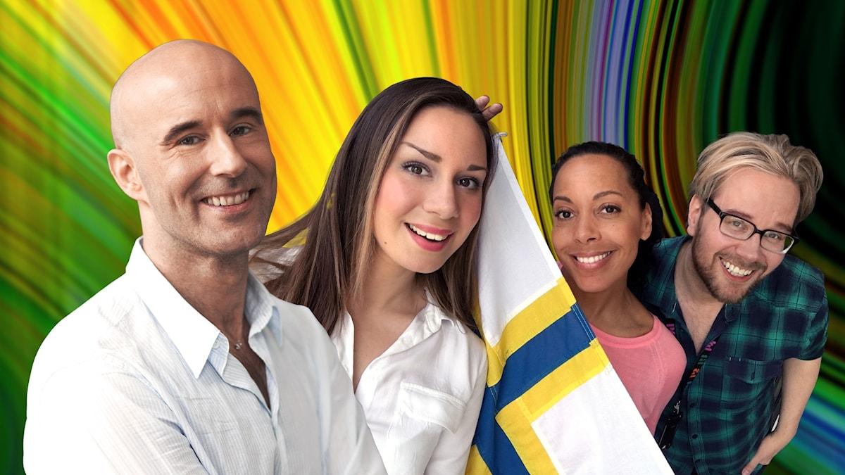 Mark Levengood berättar hur kärleken håller år efter år och Pia Herrera hyllar den finska kvinnan