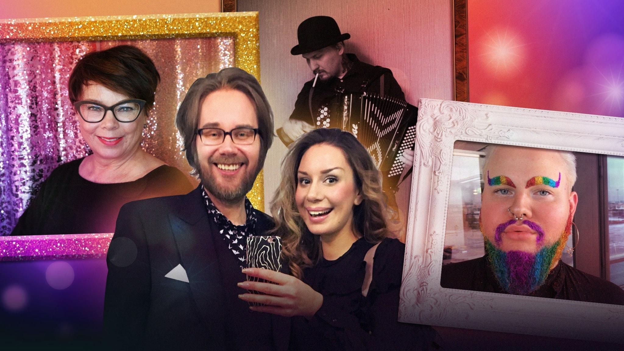 Glitterskägg, mogen bloggare och premiär för en exklusiv sverigefinsk låt
