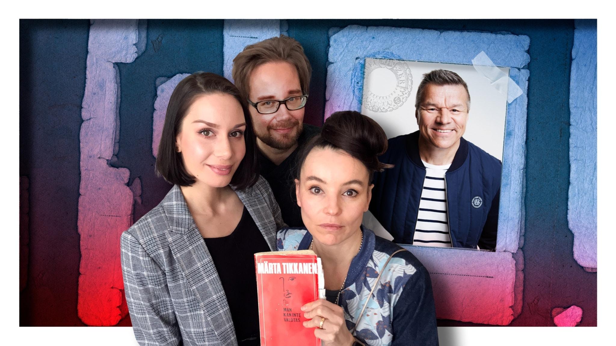 Jarmo Mäkinen struntar i sin ålder och Lo Kauppi regisserar pjäsen Män kan inte våldtas