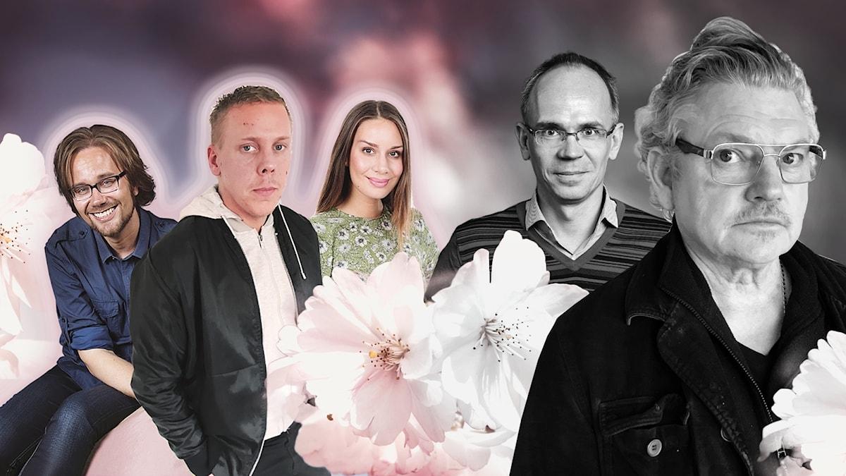 Charlie Villant söker sitt sound och Dan Ekborg hittar svarta änkor i Finland