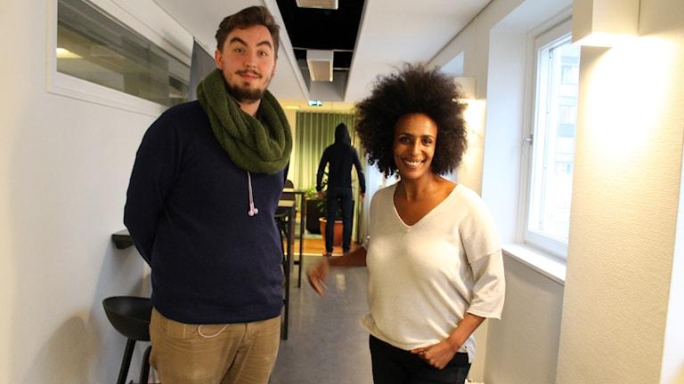 """Nominerad till Stora Journalistpriset i kategorin """"Årets förnyare"""" för viralgranskningar på tidningen Metro. Foto: Ronnie Ritterland / Sveriges Radio"""