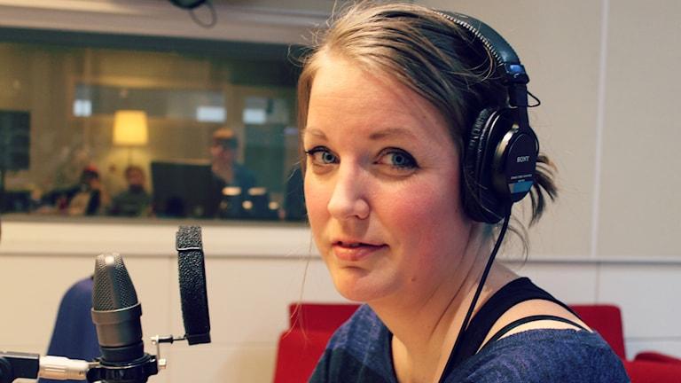 Linda Kante. Foto: Ronnie Ritterland / Sveriges Radio