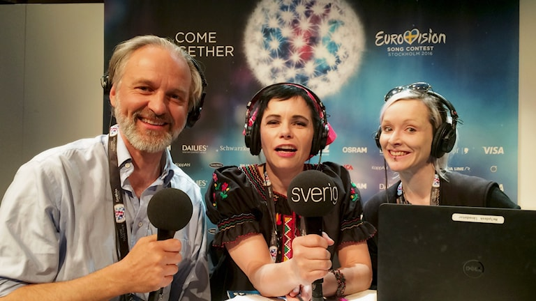 Specialinsatt Eurovisionspecial direkt från Globen med Björn Kjellman, Carolina Norén och Ronnie Ritterland