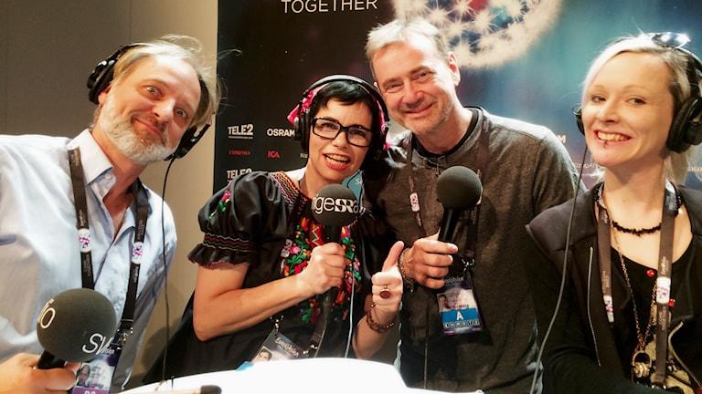 Vad händer om Australien vinner  - det svarar Christer Björkman på i den här veckans Eurovisionspecial med Carolina Norén, Björn Kjellman, Ronnie Ritterland.