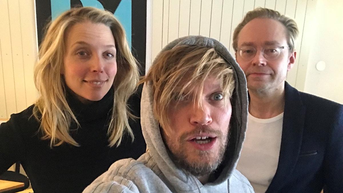 Annie Reuterskiöld, Henrik Torehammar och Fredrik Furtenbach