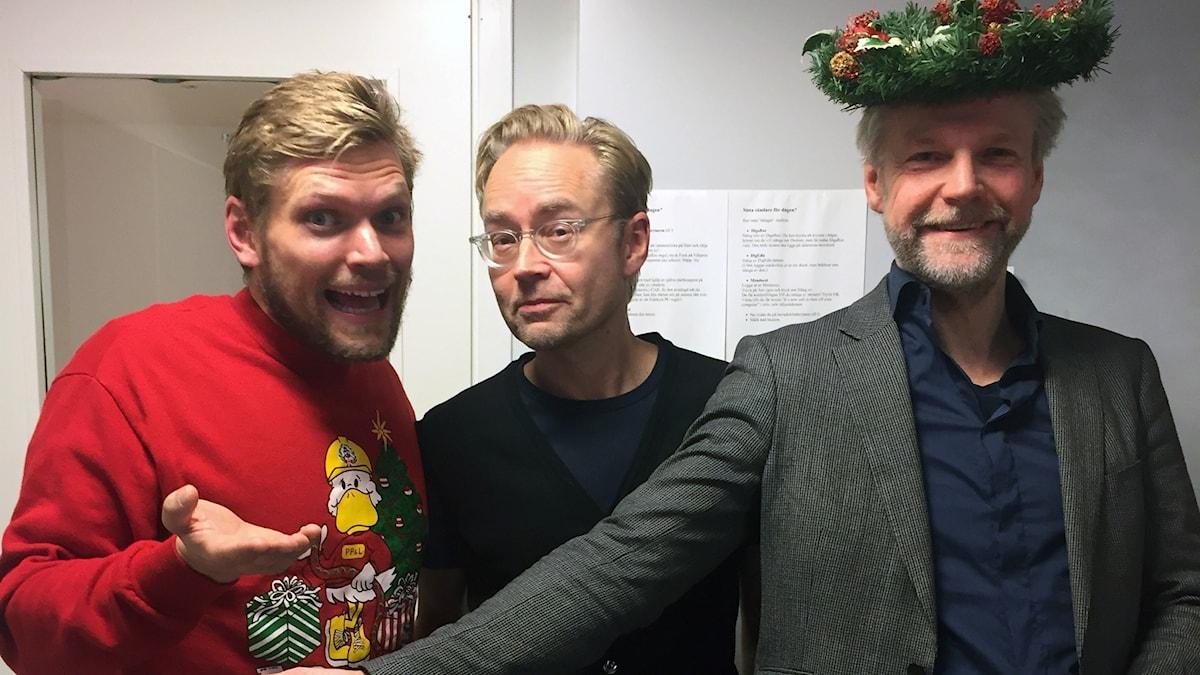 Henrik Torehammar, Fredrik Furtenbach och Tomas Ramberg