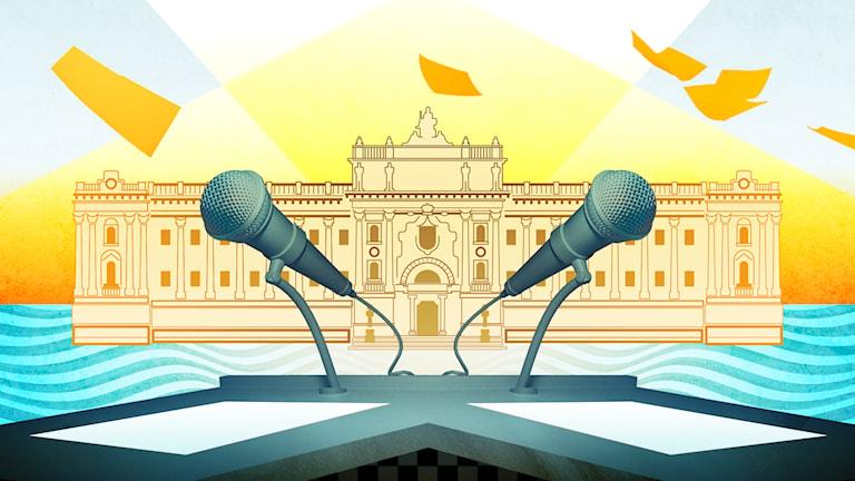 Programbild för Det politiska spelet