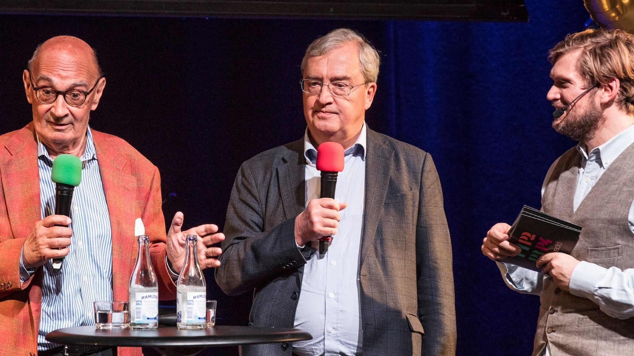 Ulf Adelsohn, Erik Åsbrink och Henrik Torehammar.