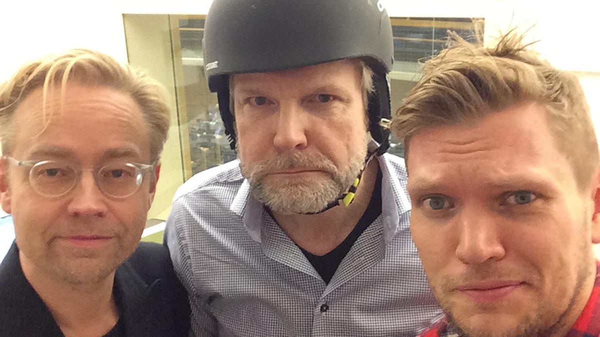 Fredrik Furtenbach, Tomas Ramberg och Henrik Torehammar. Foto: Henrik Torehammar
