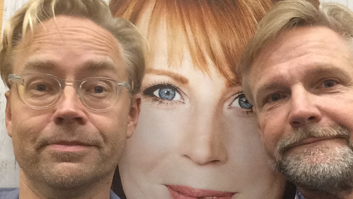 Fredrik Furtenbach och Tomas Ramberg. Foto: SR.