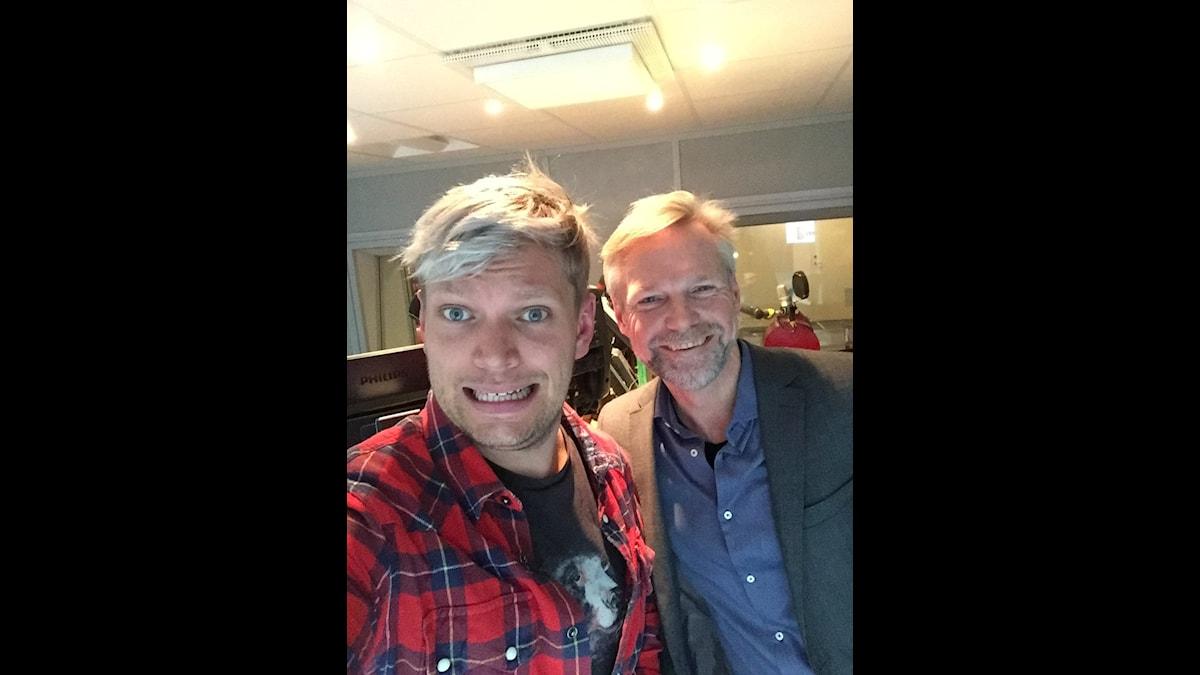 Henrik Torehammar och Tomas Ramberg