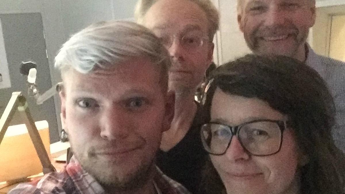 Torehammar, Furtenbach, Ramberg och Anna Charlotta Gunnarsson. Foto: Sveriges Radio.