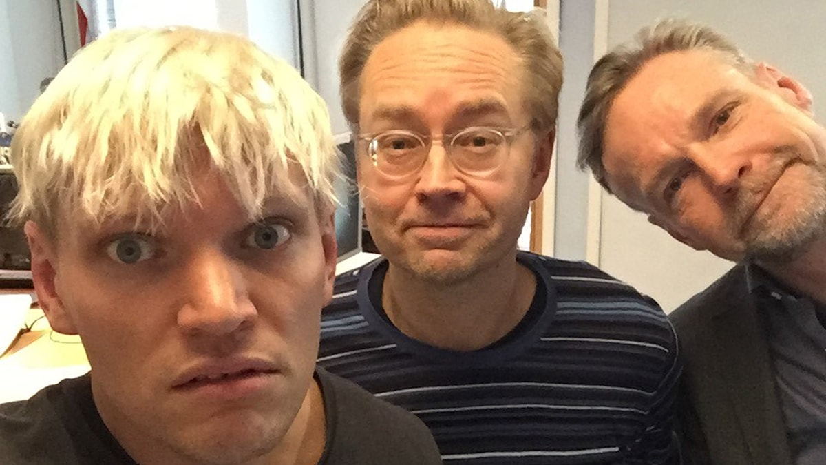 Henrik Torehammar, Fredrik Furtenbach och Tomas Ramberg.