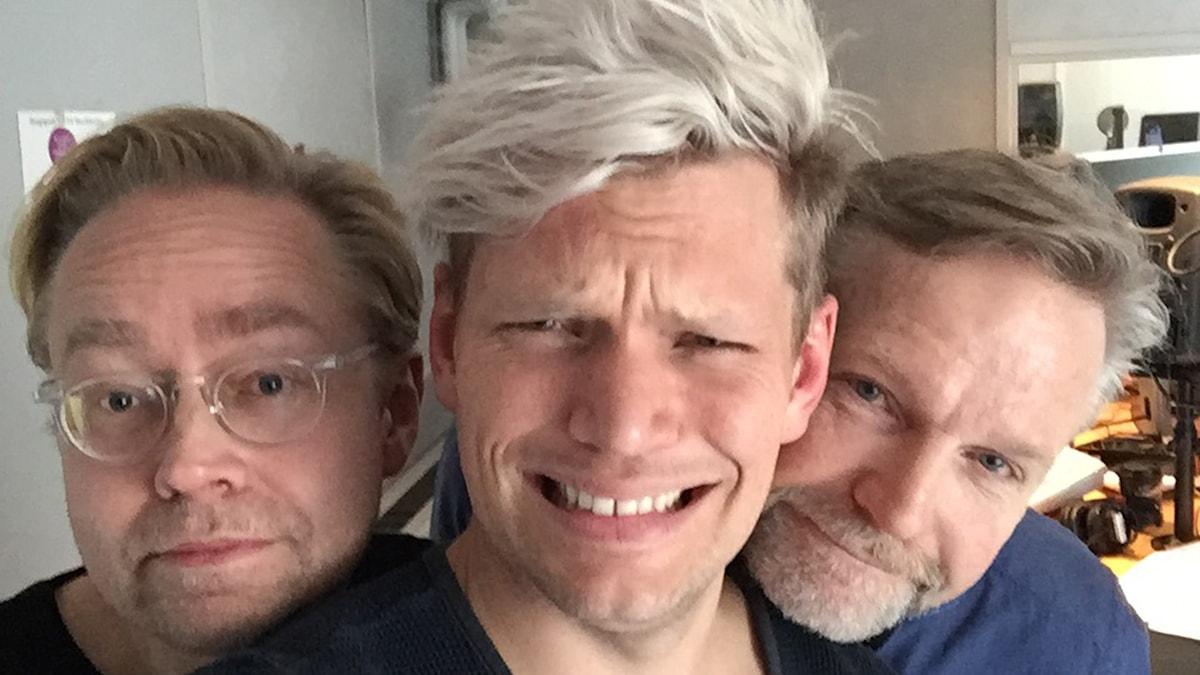 Fredrik Furtenbach, Henrik Torehammar och Tomas Ramberg.