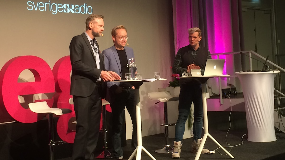 Tomas Ramberg, Fredrik Furtenbach och Henrik Torehammar.
