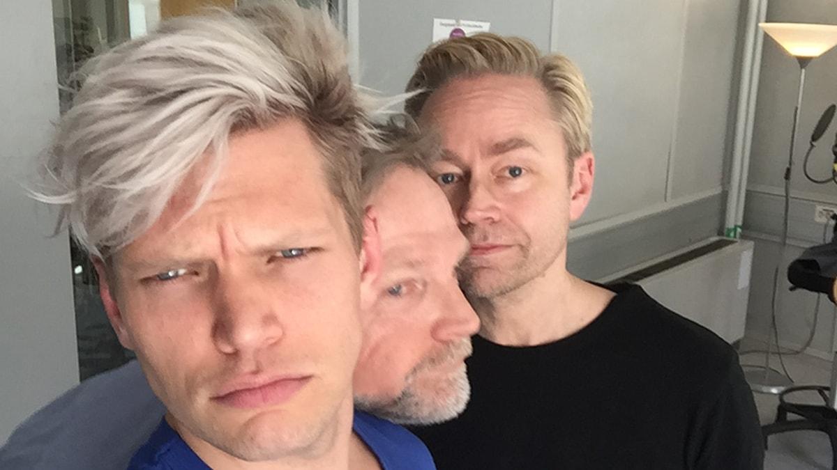 Henrik Torehammar, Tomas Ramberg och Fredrik Furtenbach.