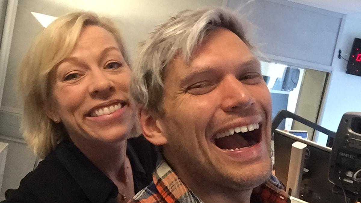 Ginna Lindberg och Henrik Torehammar.