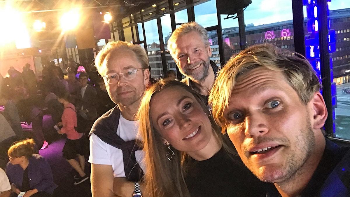 Fredrik Furtenbach, My Rohwedder, Tomas Ramberg och Henrik Torehammar.