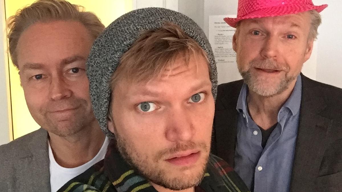 Fredrik, Henrik och Tomas