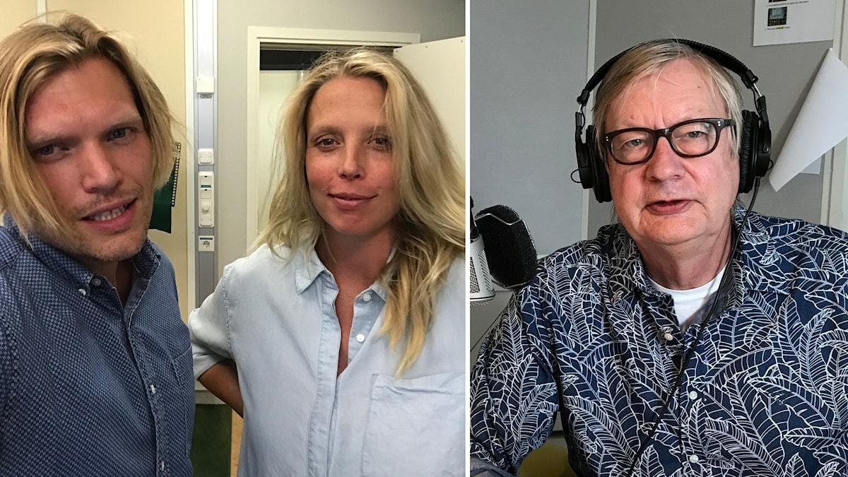 Henrik Torehammar, Annie Reuterskiöld och Bo Bengtsson