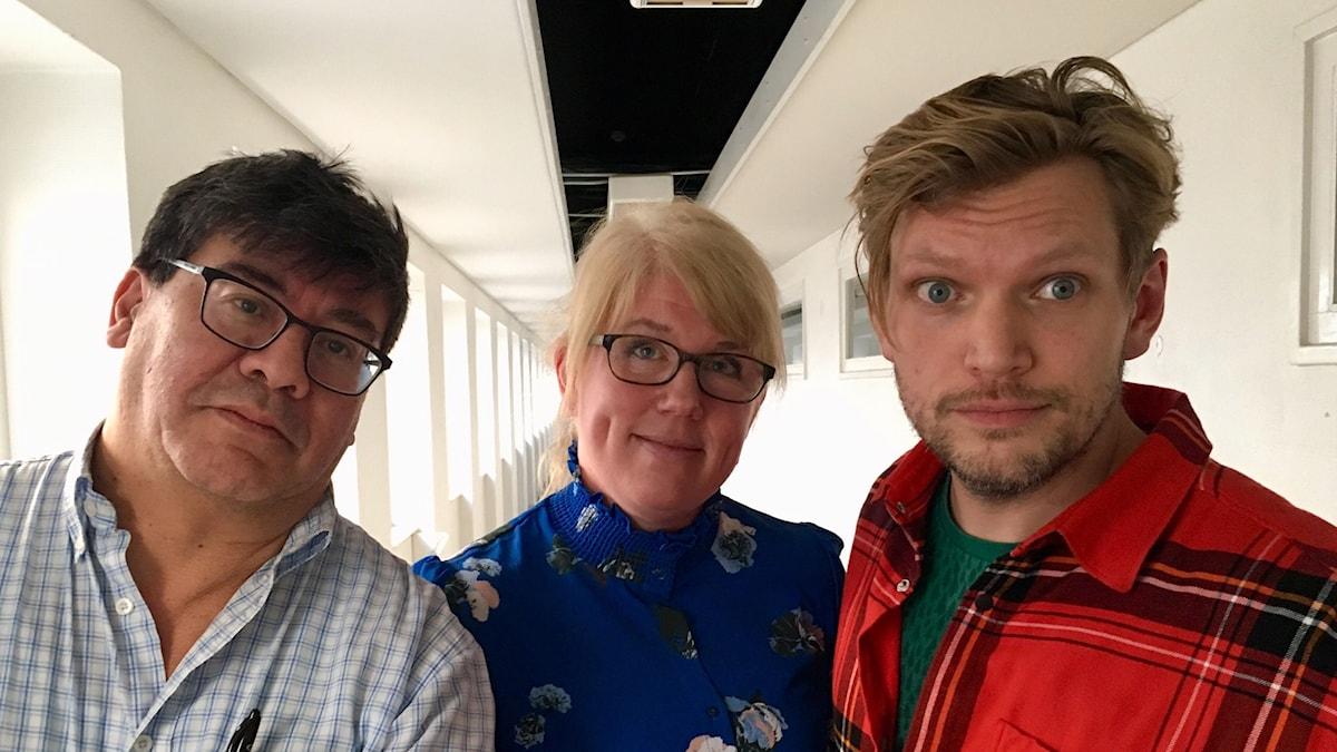 Ivan Garcia, Anna-Karin Sivberg och Henrik Torehammar