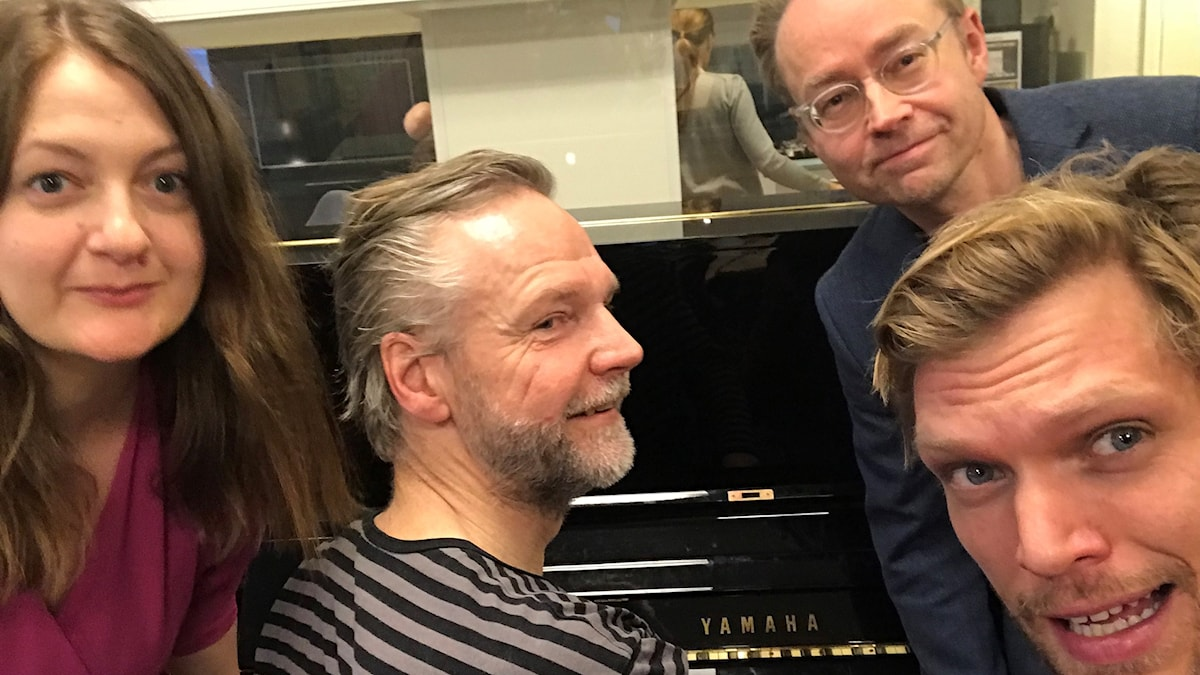 Maggie Strömberg, Tomas Ramberg, Fredrik Furtenbach och Henrik Torehammar.