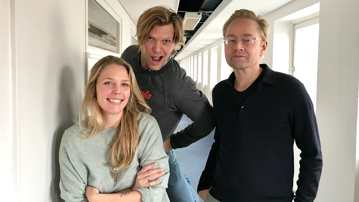 Annie Reuterskiöld, Henrik Torehammar och Fredrik Furtenbach.