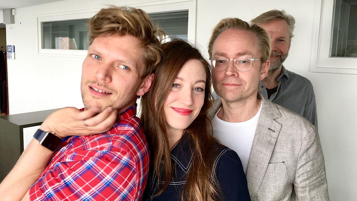 Henrik Torehammar, My Rohwedder, Fredrik Furtenbach och Tomas Ramberg.