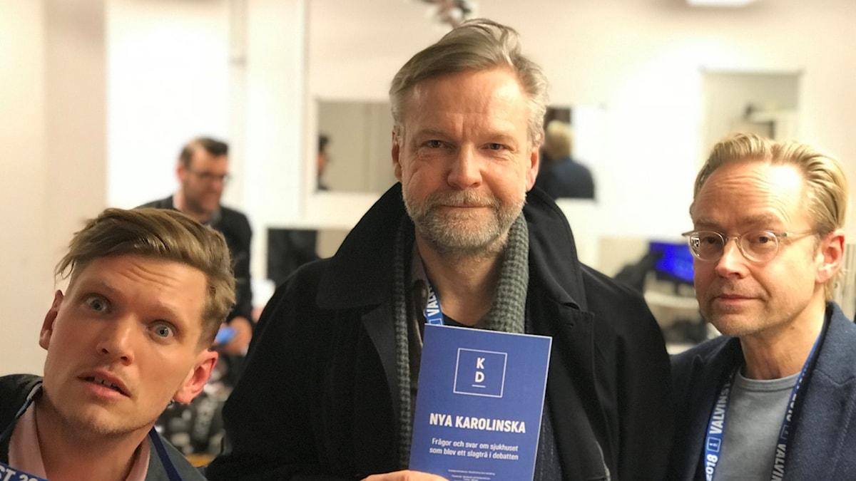 Henrik Torehammar, Tomas Ramberg och Fredrik Furtenbach