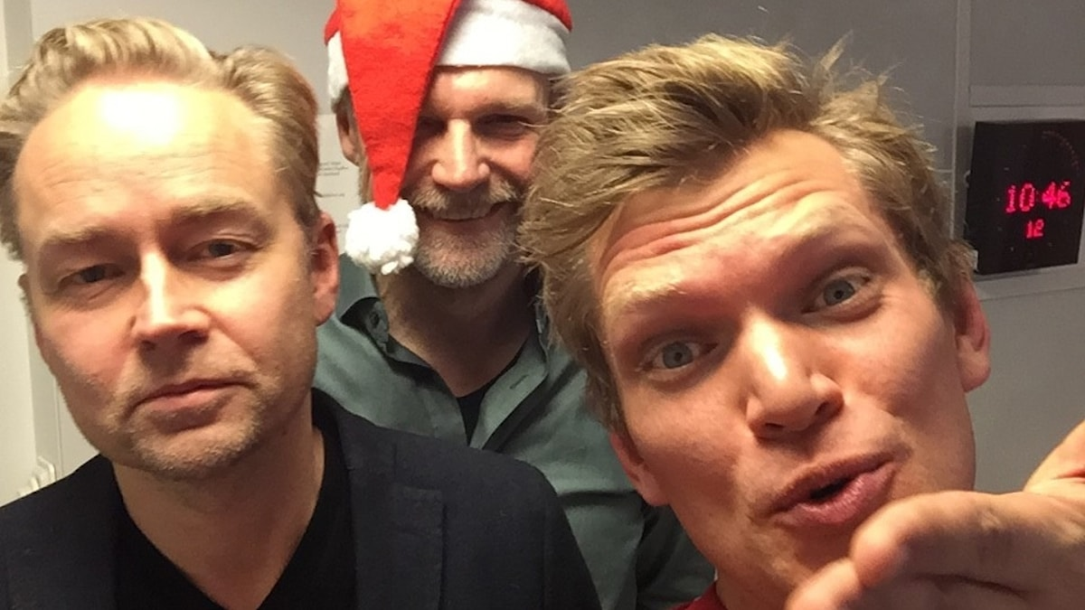 Fredrik, Tomas och Henrik.