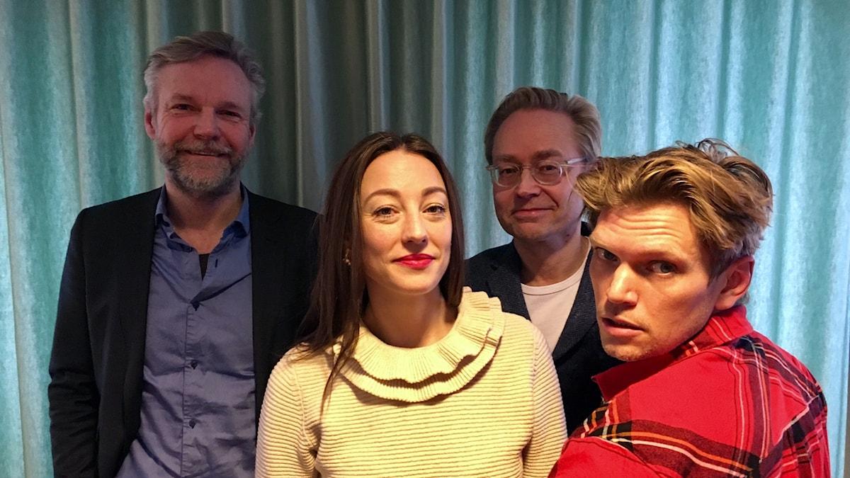 Tomas Ramberg, My Rohwedder, Fredrik Furtenbach och Henrik Torehammar.