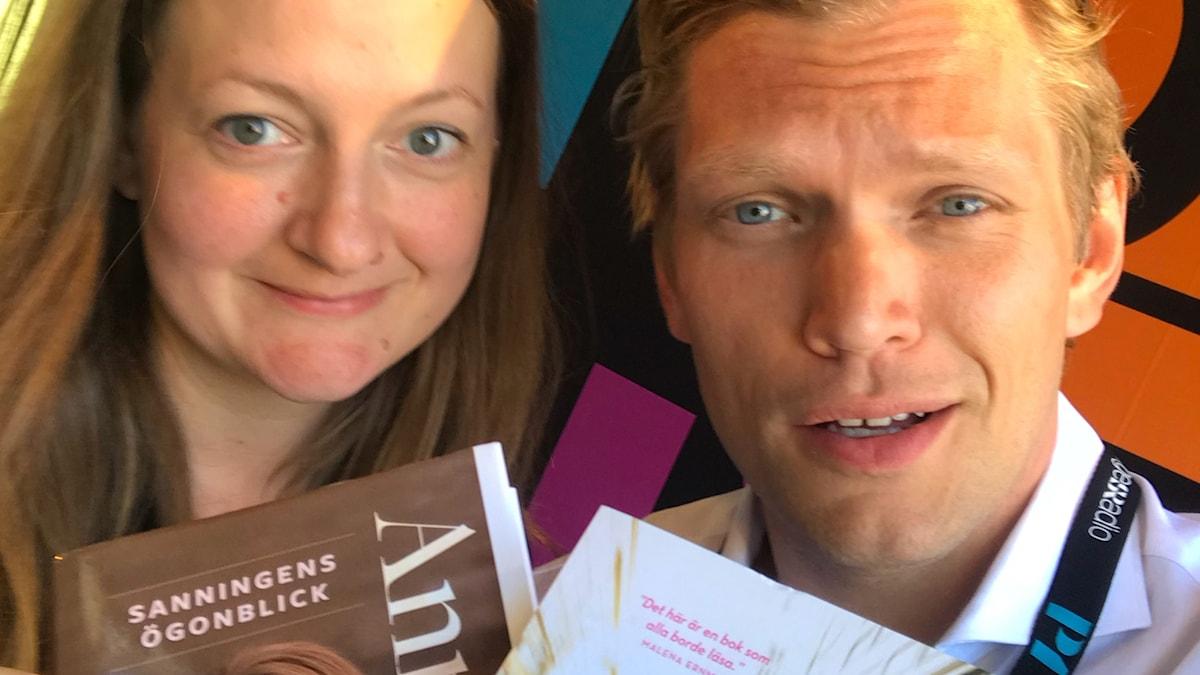 Maggie Strömberg och Henrik Torehammar.