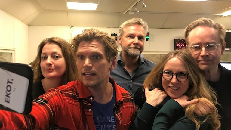 Maggie Strömberg, Henrik Torehammar, Tomas Ramberg, Mari Forssblad, Fredrik Furtenbach