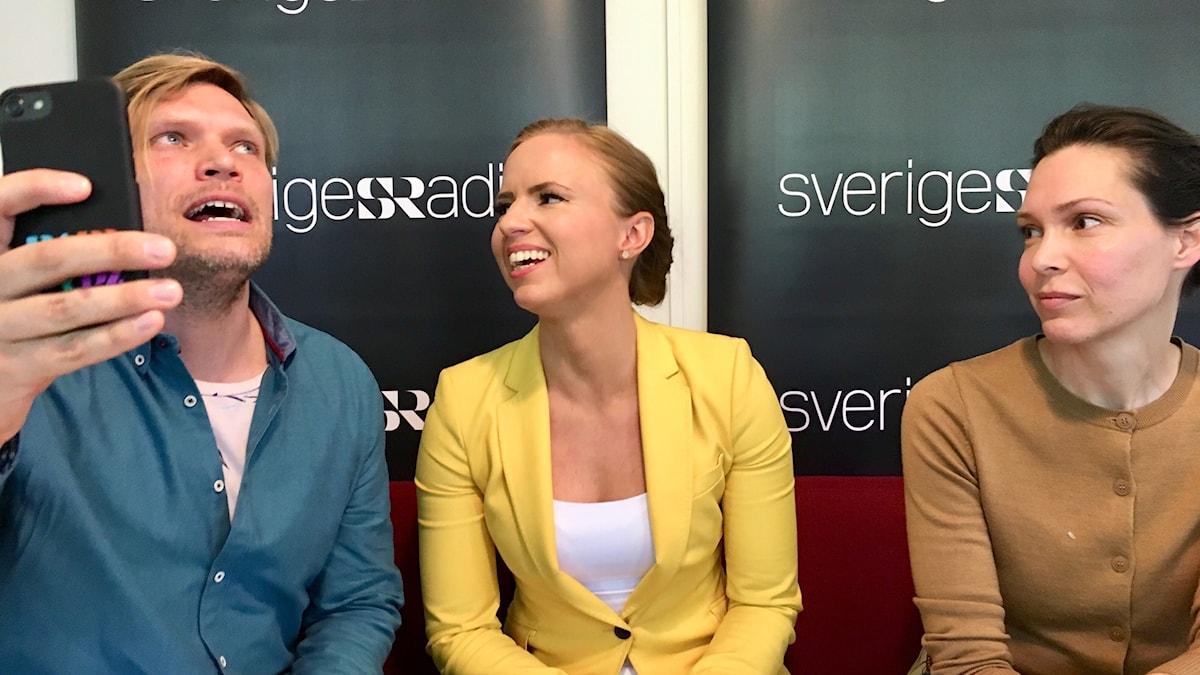 Sara Skyttedal (KD) svarar på lyssnarfrågor.