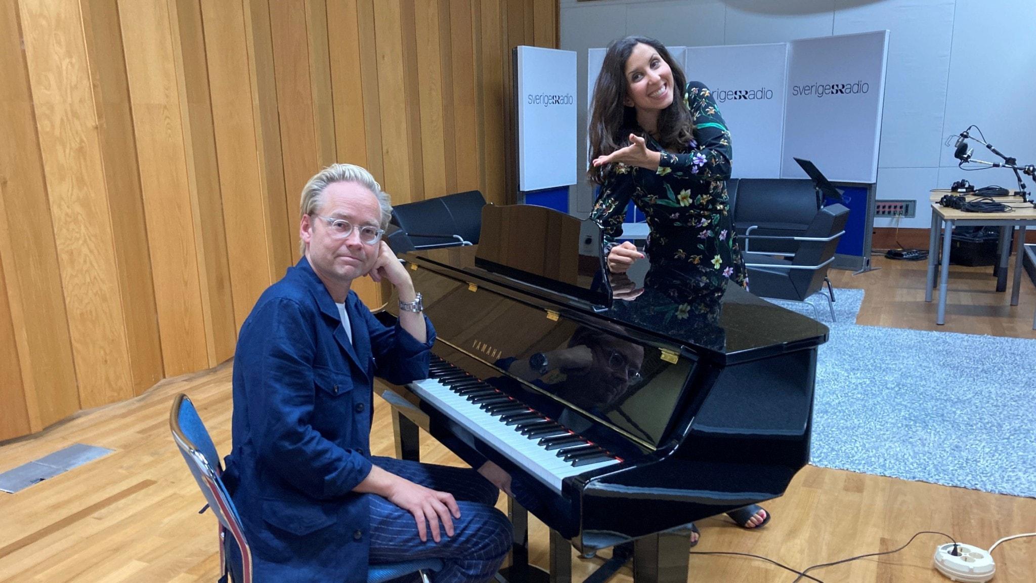 Parisa Höglund och Fredrik Furtenbach
