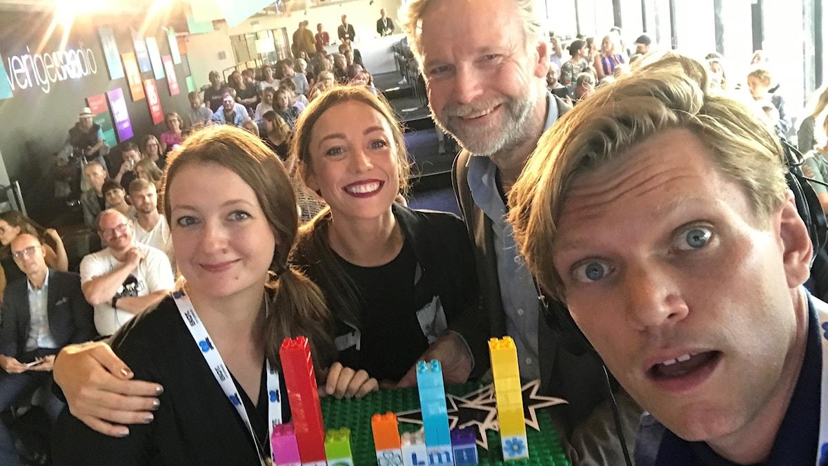 Maggie Strömberg, My Rohwedder, Tomas Ramberg och Henrik Torehammar.