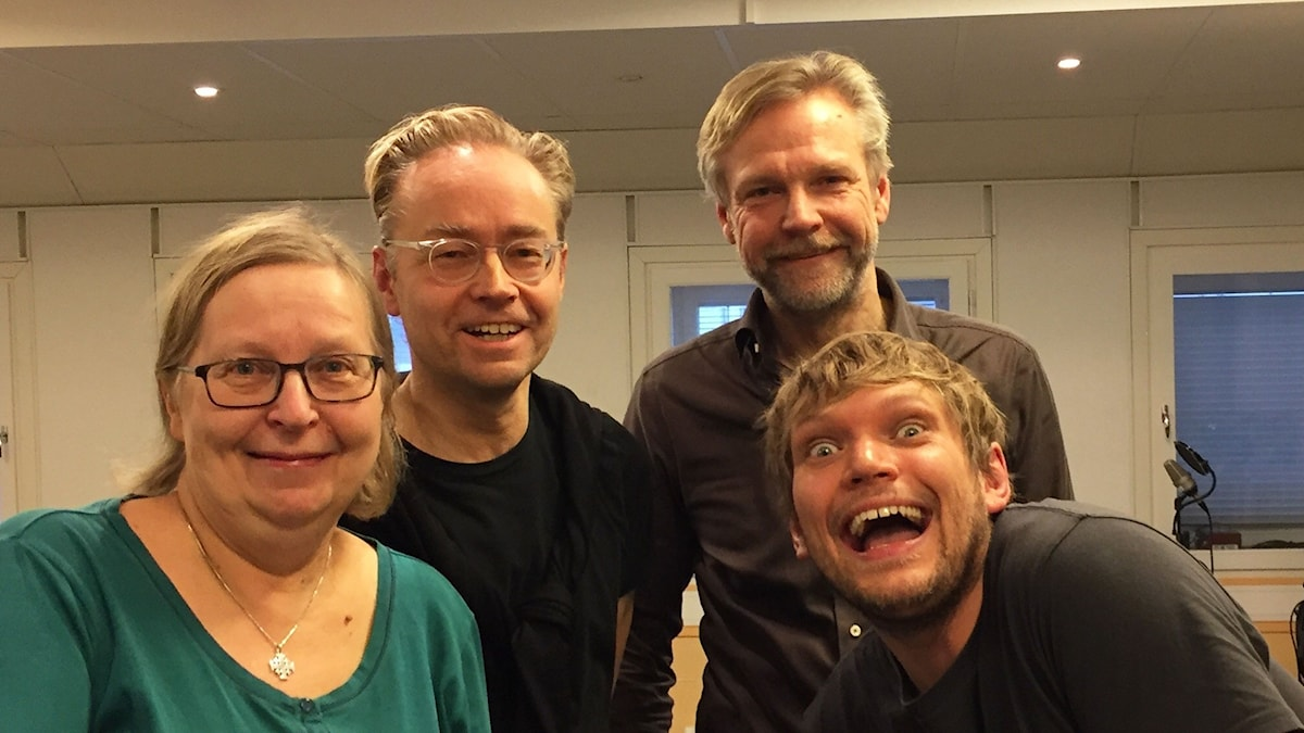 Elisabeth, Fredrik, Tomas och Henrik