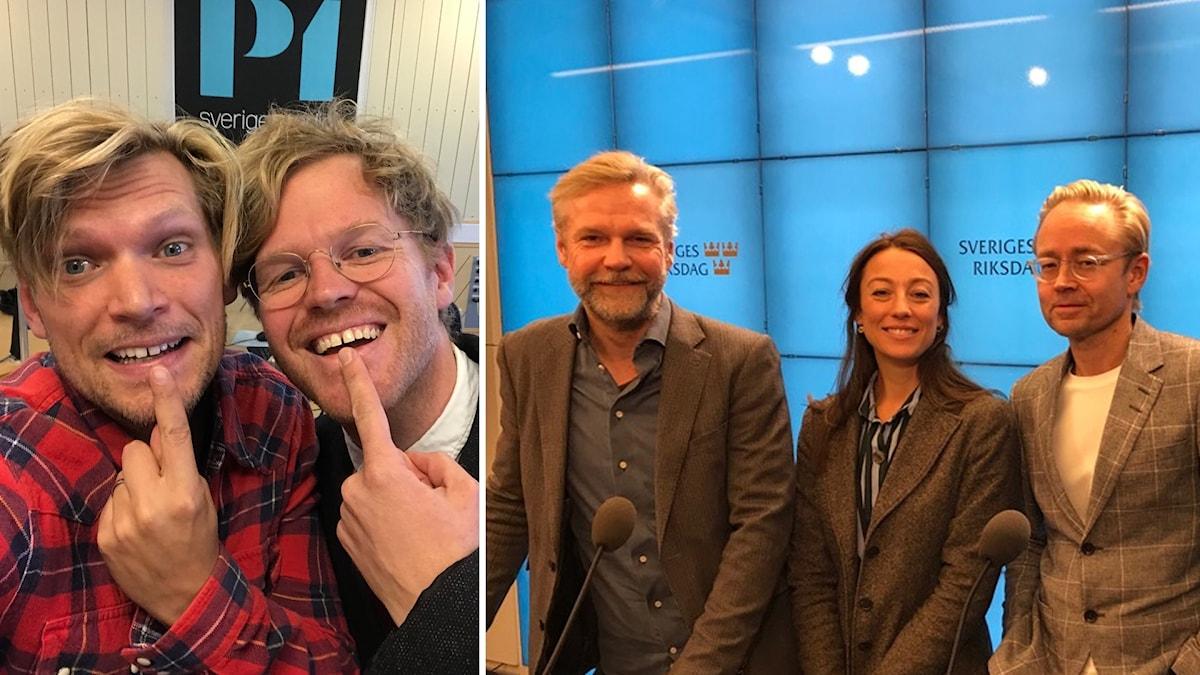 Henrik Torehammar, Erik Hedtjärn, Tomas Ramberg, My Rohwedder och Fredrik Furtenbach.