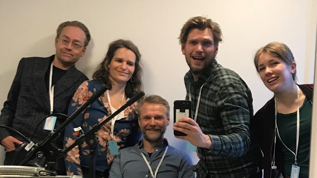 Fredrik Furtenbach, Katarina Helmerson, Tomas Ramberg, Henrik Torehammar och Elin Hagman.