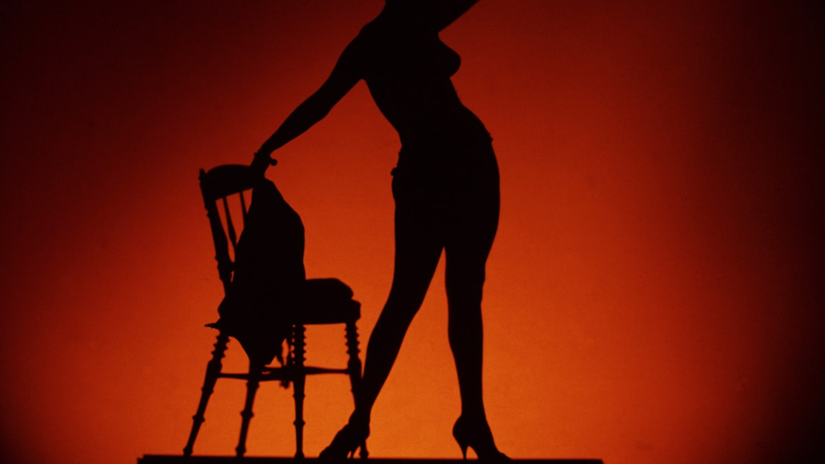 Striptease  Foto: CA Peterson /SVT Bild