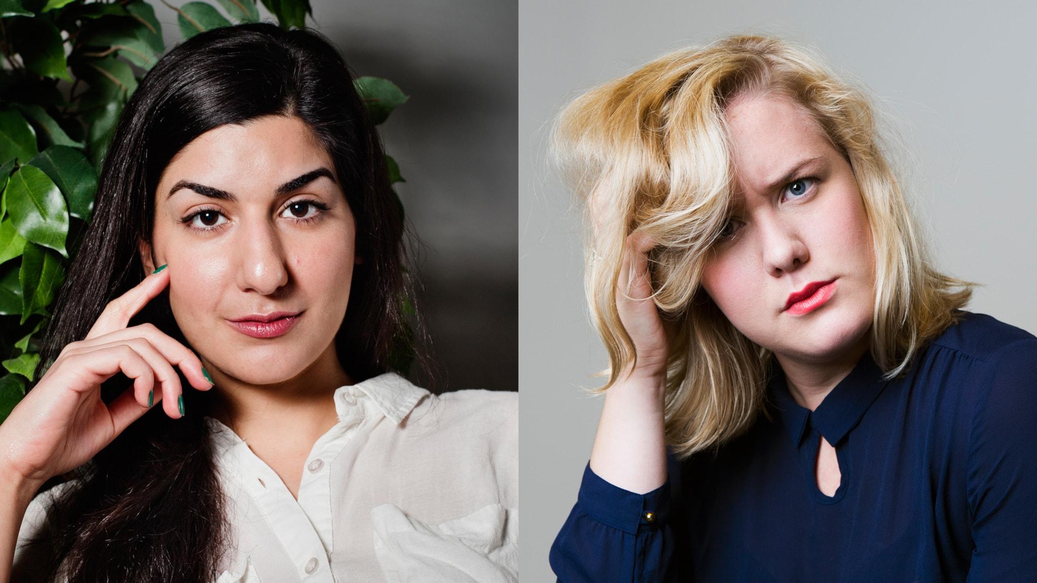 Dilan Apak. Foto: Julia Lindemalm/Sveriges Radio. Moa Lundqvist. Foto: Mattias Ahlm/Sveriges Radio.